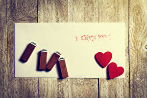 Картинки День святого Валентина Доски Сердечко Английский 2 Лист бумаги