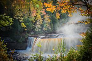 Картинки Водопады Осенние