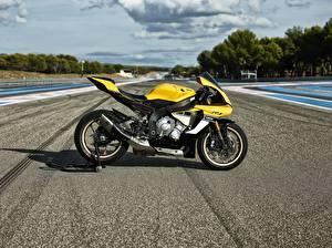 Картинка Ямаха Сбоку 2016 YZF-R1 60th Anniversary Edition Мотоциклы