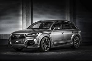 Фотографии Audi Универсал quattro SQ7 Автомобили