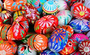Картинки Пасха Вблизи Яйца Пища