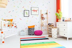Картинка Интерьер Детская комната Дизайн