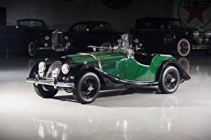 Фото Morgan Motor Company Винтаж Зеленый Кабриолет Металлик 1950-69 Plus 4 Автомобили