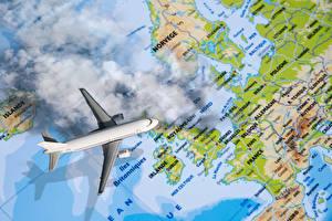 Фотография Самолеты Пассажирские Самолеты