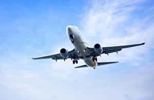 Фотография Самолеты Пассажирские Самолеты Летящий