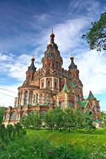 Фотография Россия Санкт-Петербург Храмы Церковь Peterhof Города