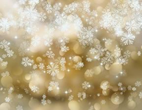 Фото Текстура Снежинки