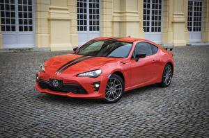 Картинки Тойота Металлик Красный 2017-18  86-860 Автомобили