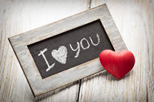 Картинки День святого Валентина Английский Сердечко Красный