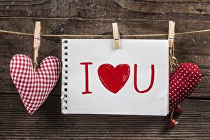 Картинки День святого Валентина Сердечко Прищепки