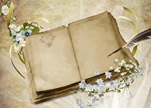 Фотографии День всех влюблённых Сердечко Тетрадь Шаблон поздравительной открытки
