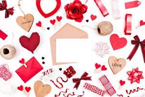 Обои День всех влюблённых Сердце Шаблон поздравительной открытки