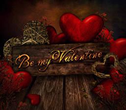 Фотография День всех влюблённых Доски Английский Сердечко