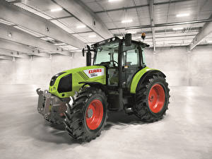 Обои Трактор 2009-14 Claas Arion 430