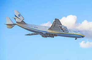 Картинки Самолеты Транспортный самолёт Русские An-225 Mriya
