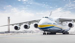Фото Самолеты Транспортный самолёт Российские An-225 Mriya Авиация