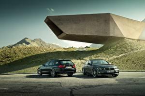 Фотографии BMW Двое 2017 Alpina B3 S Bi-Turbo Touring, Alpina B3 S Bi-Turbo Limousine Автомобили