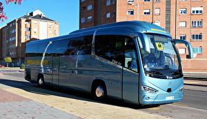 Фото Автобус Голубой IRIZAR i6S MB Автомобили