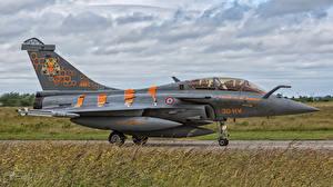 Фотография Самолеты Истребители Сбоку French Air Force Dassault Rafale B 324-4