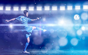 Обои Футбол Мужчины Униформа Спорт
