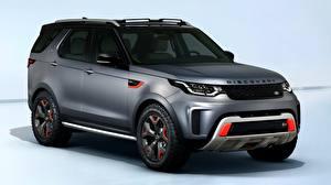 Картинки Land Rover SUV Discovery SVX V8 4x4 2017
