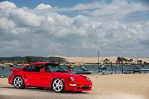 Фотографии Porsche Красный Металлик 1997-98 911 Turbo S 3.6 Coupe Авто