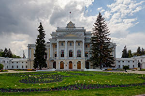Фото Россия Здания Дизайн Ель Maryino Estate Kursk Oblast Города