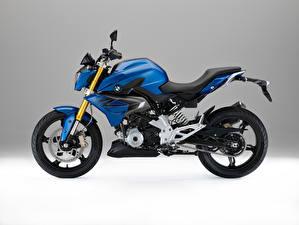 Картинки BMW - Мотоциклы Сбоку 2015-16 G 310 R