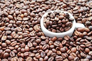 Фотография Кофе Зерна Чашка Пища