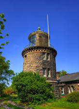 Фотографии Англия Маяки Bidston Hill Lighthouse