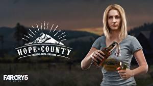 Фотография Far Cry 5 Бутылка MARYMAY Девушки