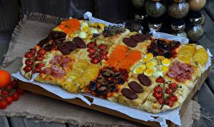 Фотография Фастфуд Мясные продукты Яйца Продукты питания