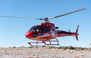 Фотография Вертолеты Красный