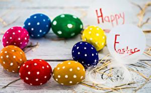 Фото Праздники Пасха Английский Яйца Дизайн