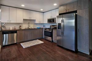 Обои Интерьер Дизайн Кухня Холодильник