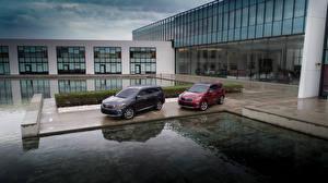 Обои KIA Два Металлик 2014-18 Sorento Автомобили