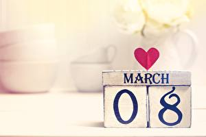 Фотография 8 марта Сердце Английский