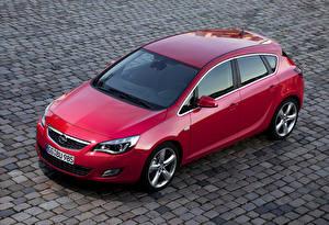 Фотографии Opel Красный Металлик 2009-12 Astra