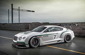 Фотография Bentley Тюнинг Белая 2012 Continental GT3 машины