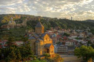 Фотография Грузия Здания Храмы Церковь Tbilisi
