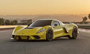 Картинка Хеннесси Желтый Металлик 2017-18 Venom F5 Автомобили