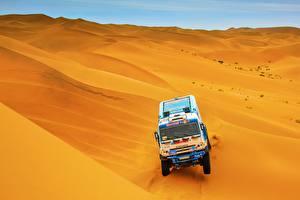 Картинки КАМАЗ Пустыни Гонки