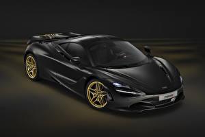 Картинка Макларен Черный 2017-18 MSO 720S Coupe Dubai Авто