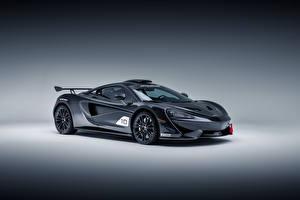 Фотографии McLaren Серые 2018 MSO X Автомобили