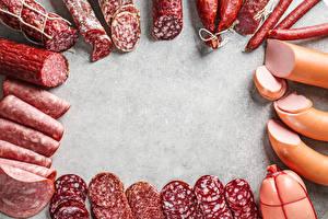 Фото Мясные продукты Колбаса Нарезка