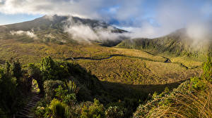 Фотография Новая Зеландия Горы Mount Egmont Taranaki Природа