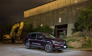 Картинка Renault Бордовая Металлик 2018 Koleos  Initiale машина
