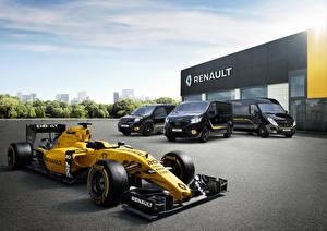 Картинка Renault Формула 1 Металлик