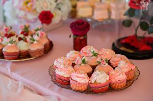 Обои Сладости Пирожное Капкейк кекс Дизайн Продукты питания