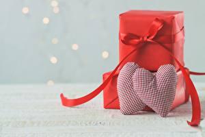 Фотография День всех влюблённых Сердечко Подарки